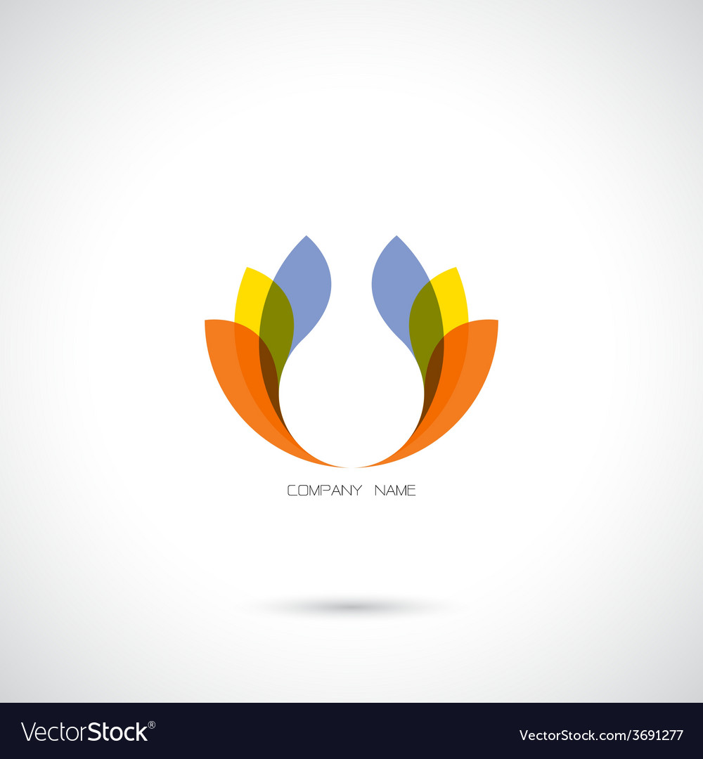 Creative abstract logo design template vector | Price: 1 Credit (USD $1)
