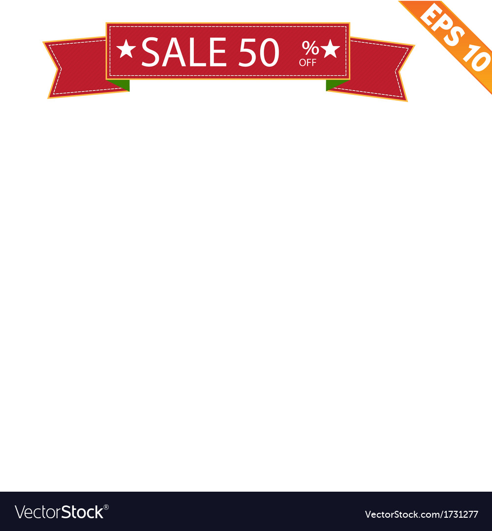 Sale banner vector | Price: 1 Credit (USD $1)