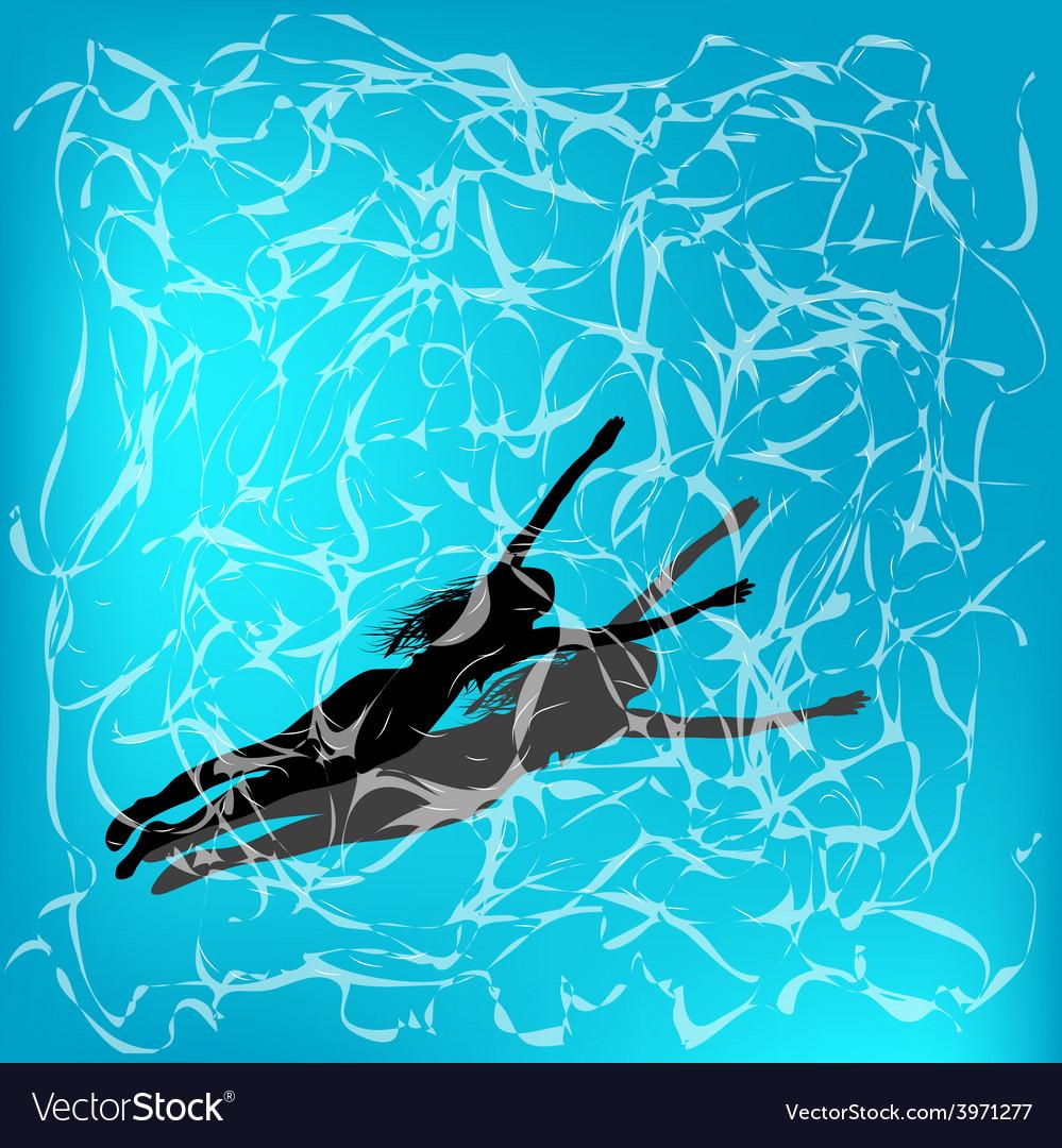 Under water vector | Price: 1 Credit (USD $1)