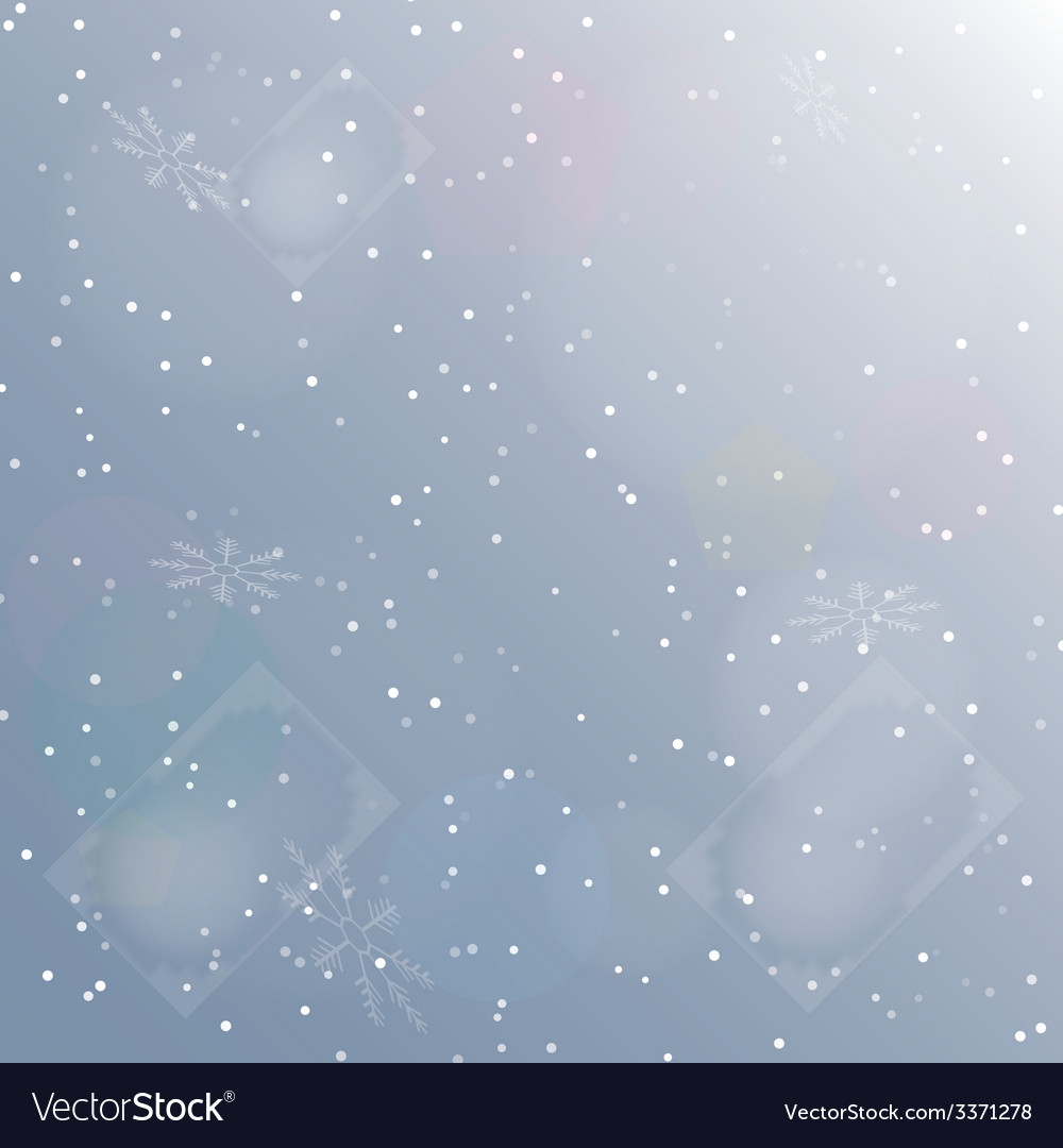 Snowfall vector | Price: 1 Credit (USD $1)