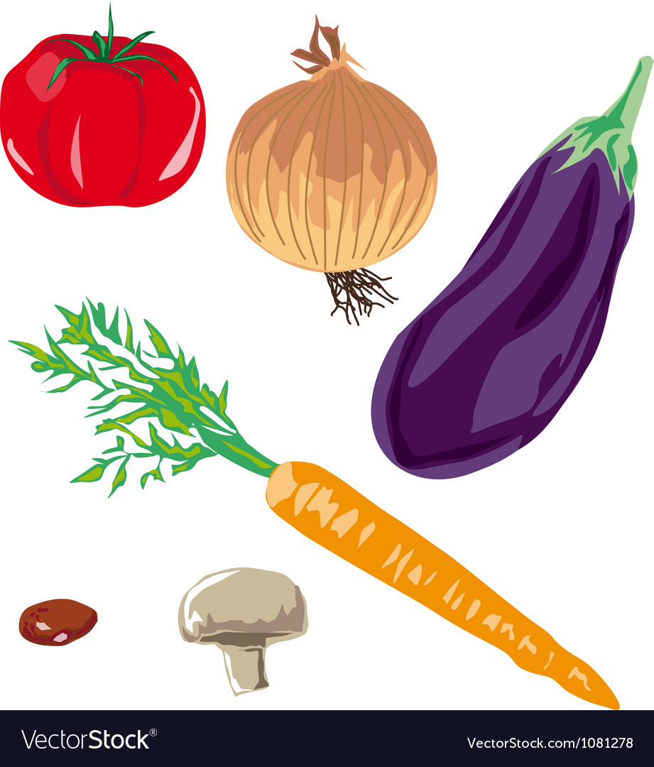 Soup vegetables vector | Price: 1 Credit (USD $1)
