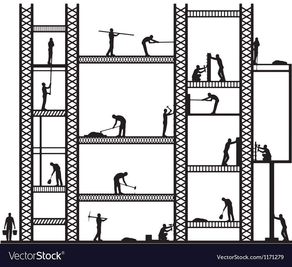 Big scaffold vector | Price: 1 Credit (USD $1)