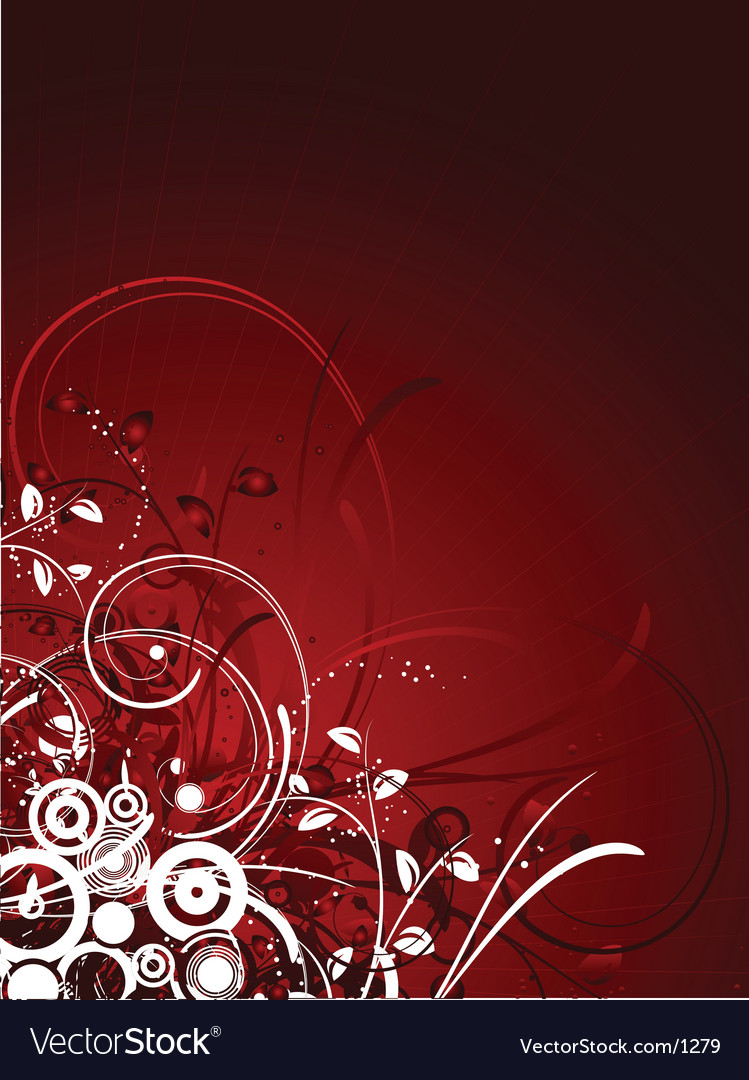 Floral abstract vector   Price: 1 Credit (USD $1)