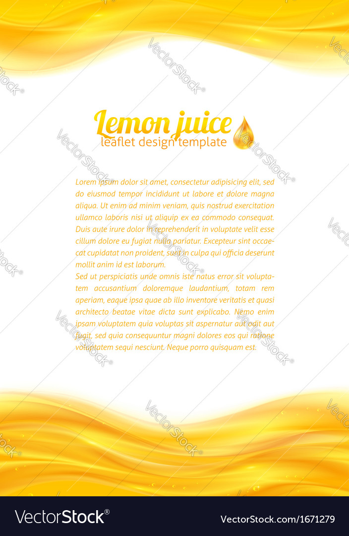 Honey colors juicy background vector | Price: 1 Credit (USD $1)
