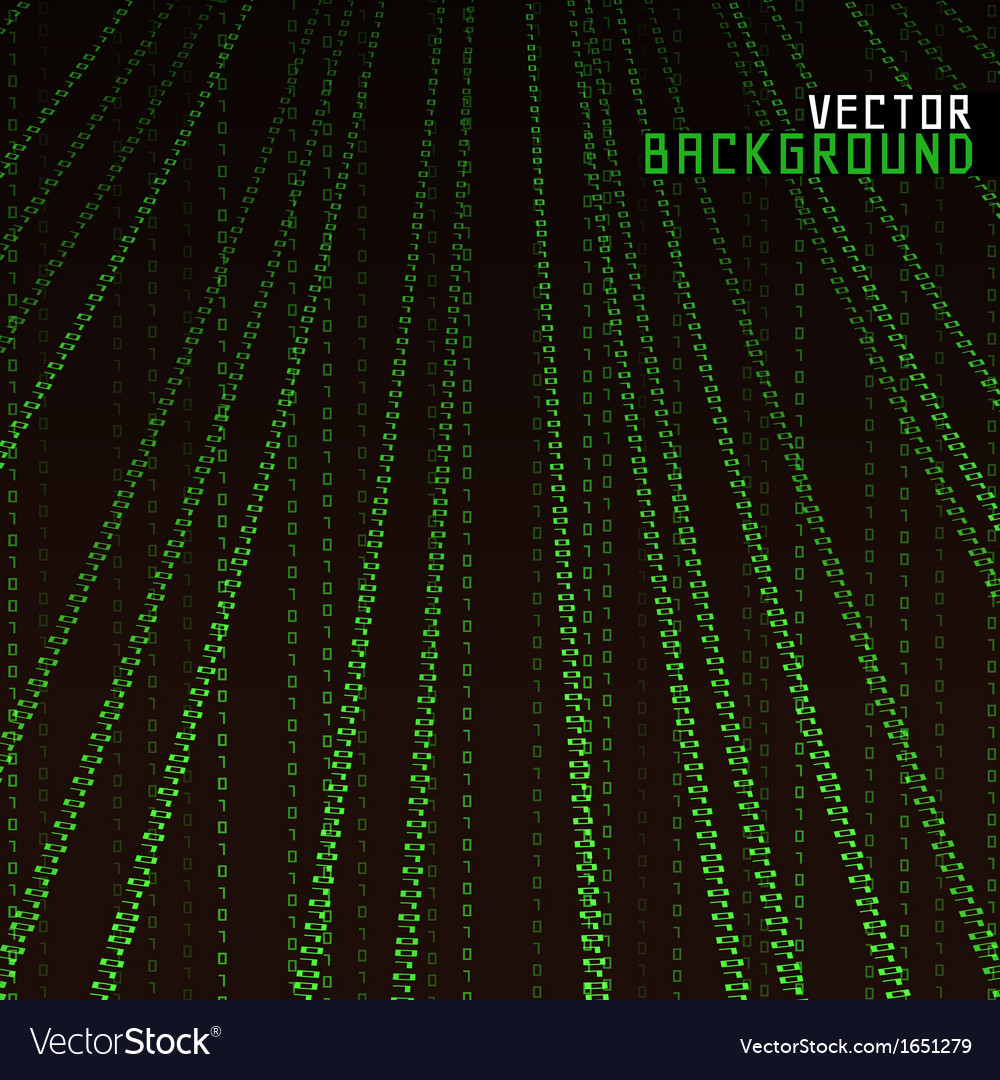 Matrix background vector | Price: 1 Credit (USD $1)