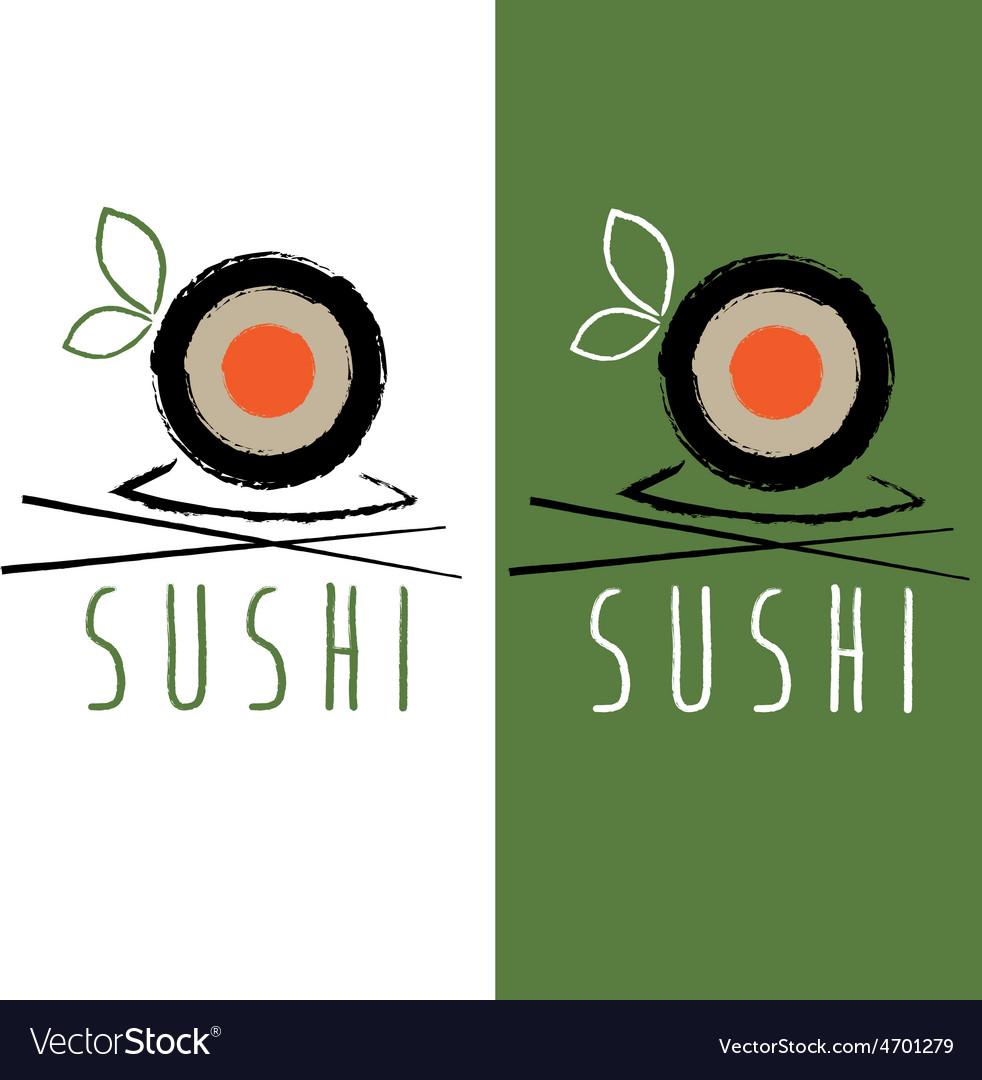 Sushi menu design template vector | Price: 1 Credit (USD $1)