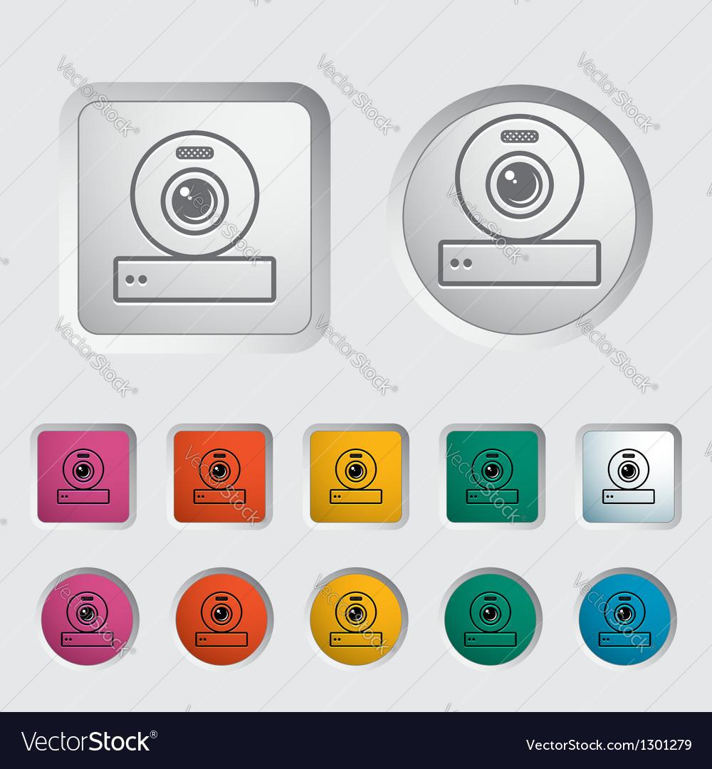 Web cam vector | Price: 1 Credit (USD $1)