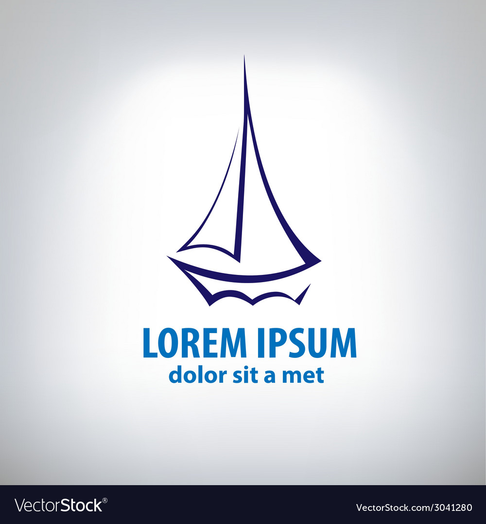 Ship sign corporate logo vector   Price: 1 Credit (USD $1)
