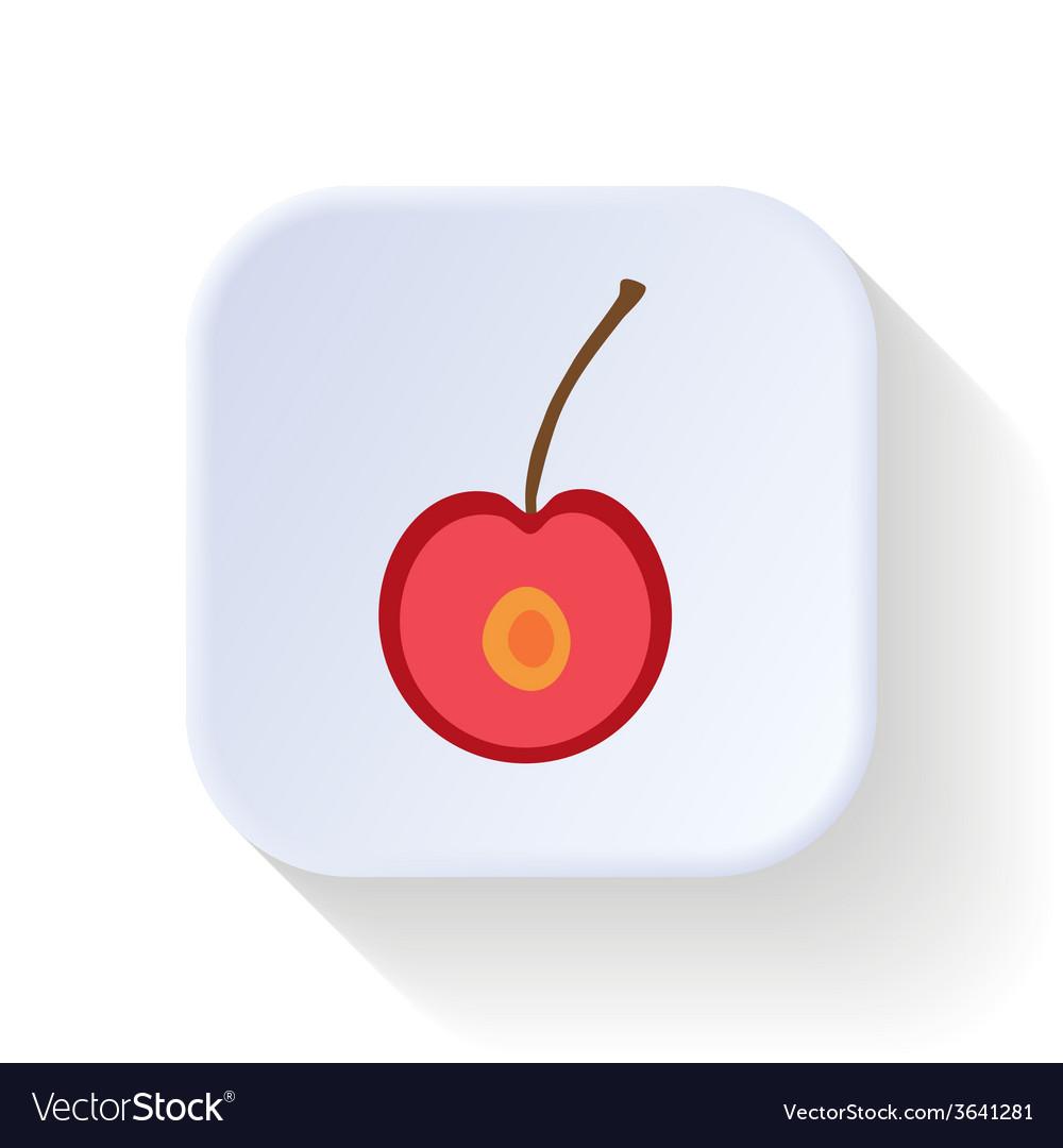 Cherry fruit vector | Price: 1 Credit (USD $1)
