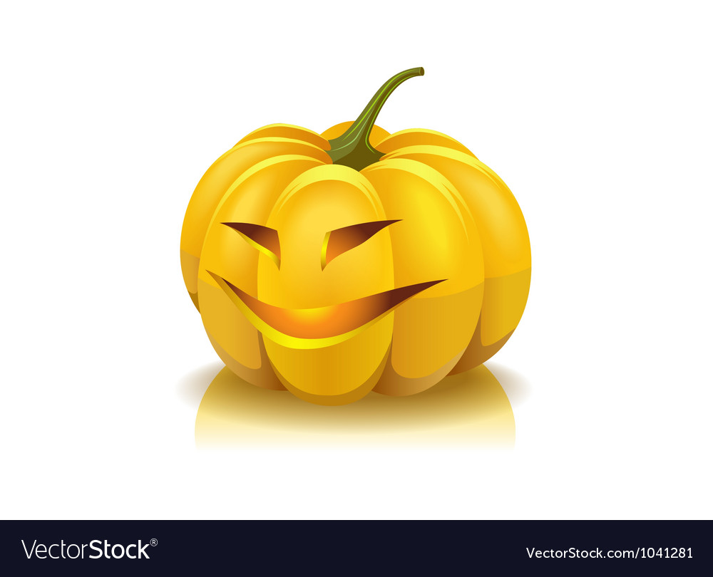Laughing pumpkin vector | Price: 1 Credit (USD $1)