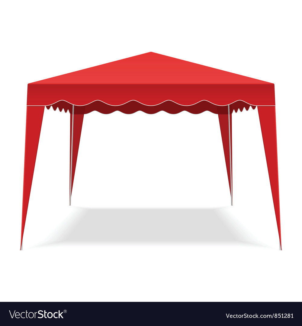 Pop up gazebo vector | Price: 1 Credit (USD $1)