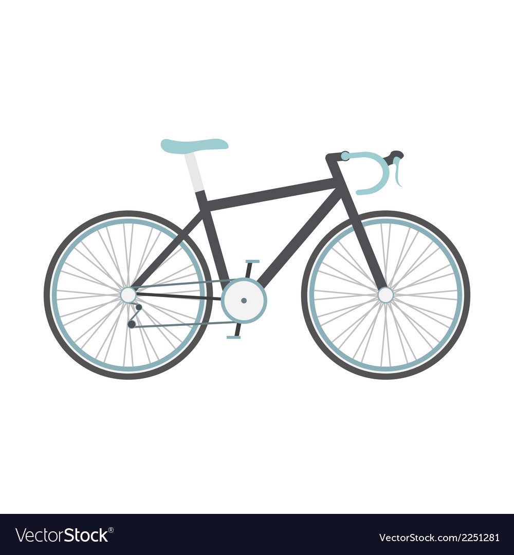 Roadbike vector | Price: 1 Credit (USD $1)