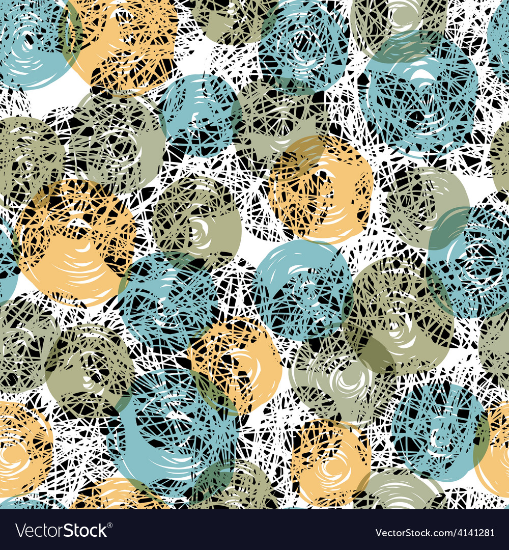 Seamless pattern abstract vector | Price: 1 Credit (USD $1)