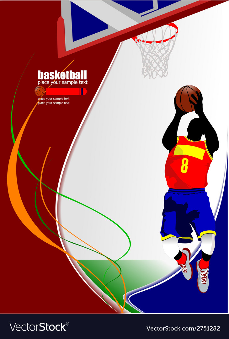 Al 0714 basketball 03 vector | Price: 1 Credit (USD $1)