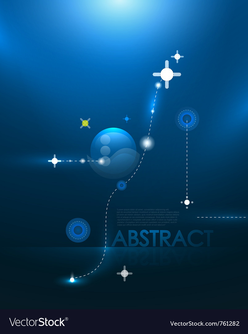 Blue galaxy background vector | Price: 1 Credit (USD $1)