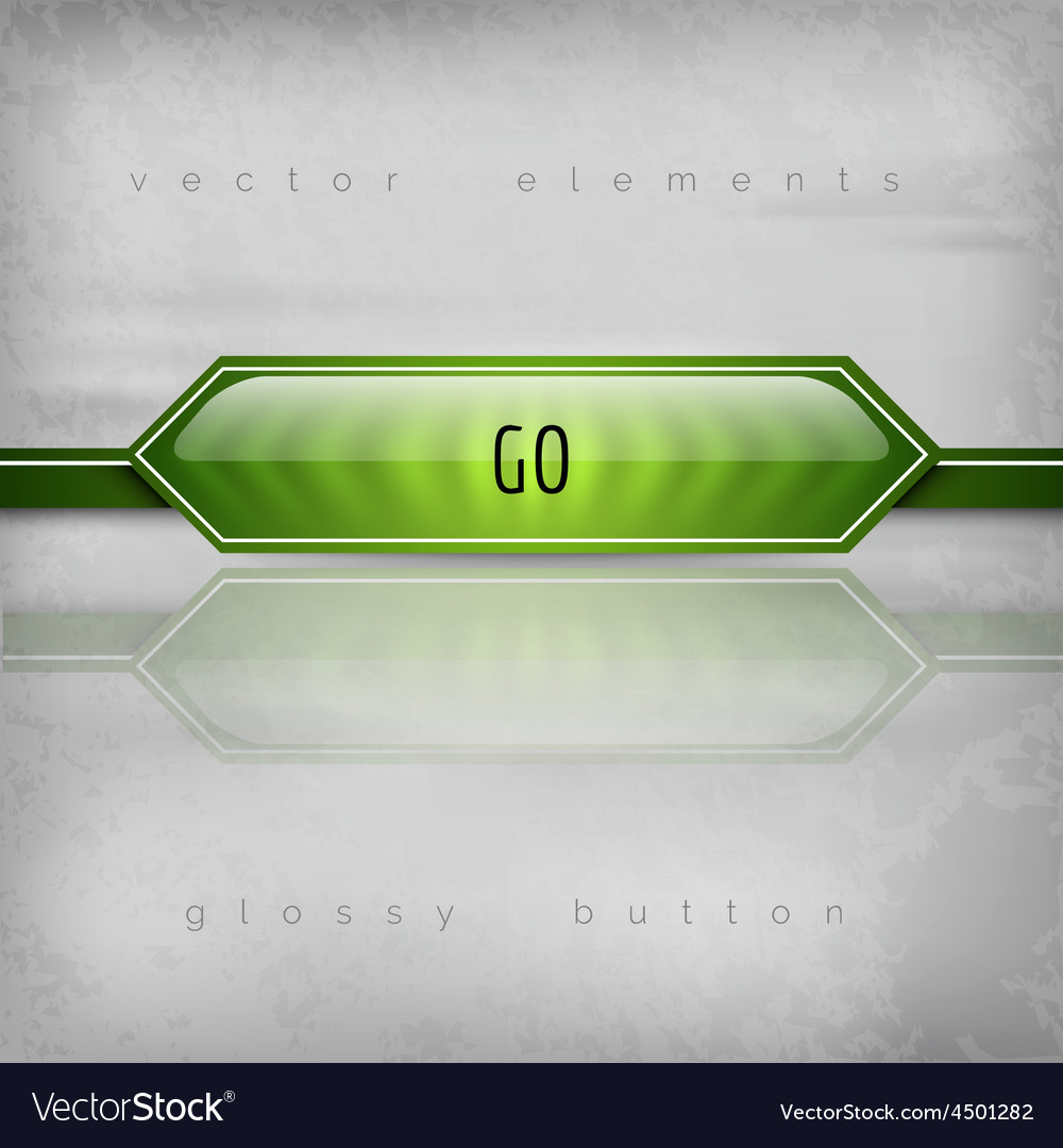 Go button vector | Price: 1 Credit (USD $1)