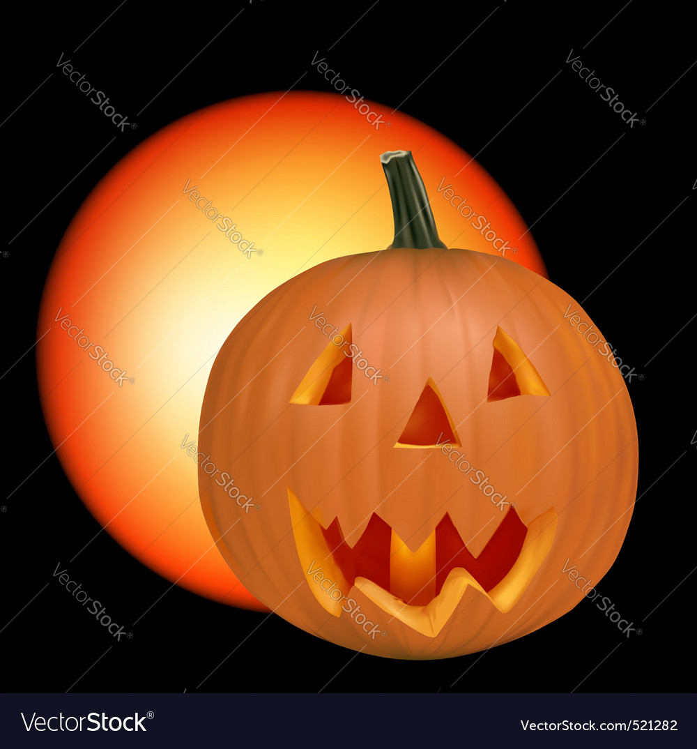 Halloween black background vector | Price: 1 Credit (USD $1)
