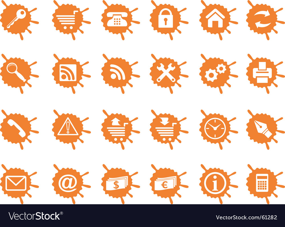 Internet and website icons vector   Price: 1 Credit (USD $1)