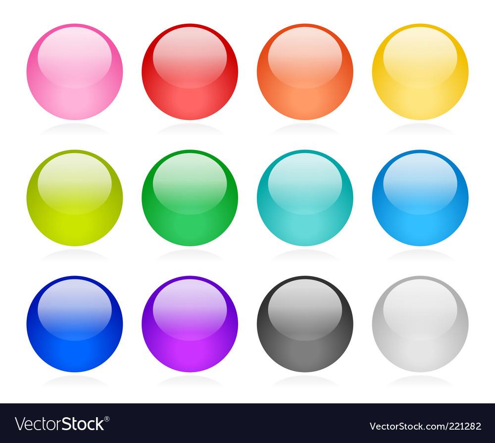 Web button set vector | Price: 1 Credit (USD $1)