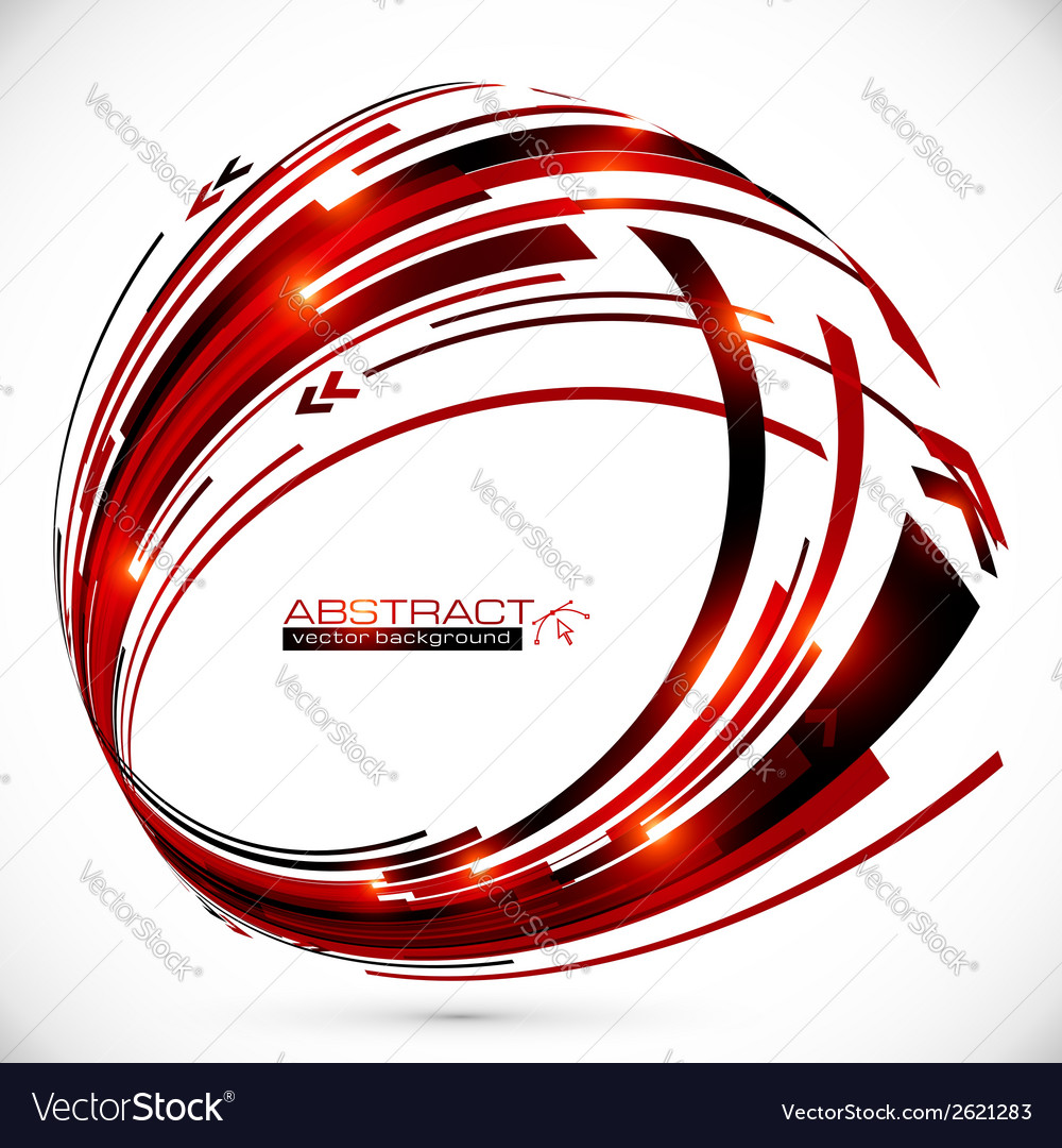 Abstract red and black techno arrows frame vector   Price: 1 Credit (USD $1)