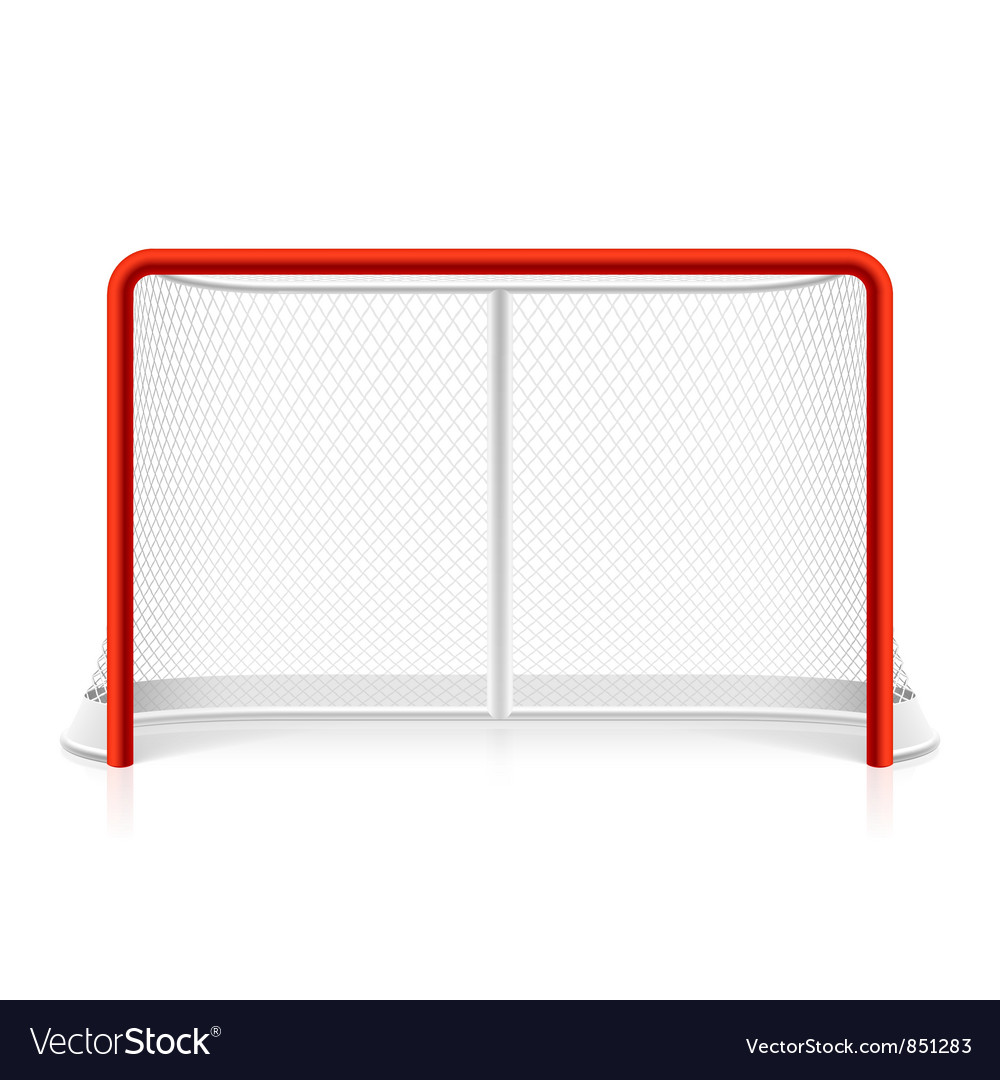 Ice hockey net vector | Price: 1 Credit (USD $1)
