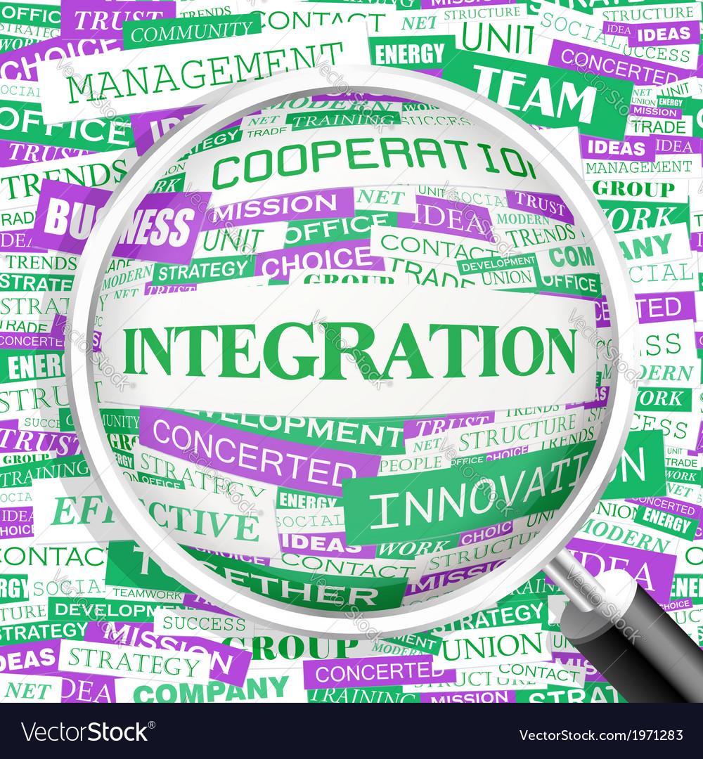 Integration vector | Price: 1 Credit (USD $1)
