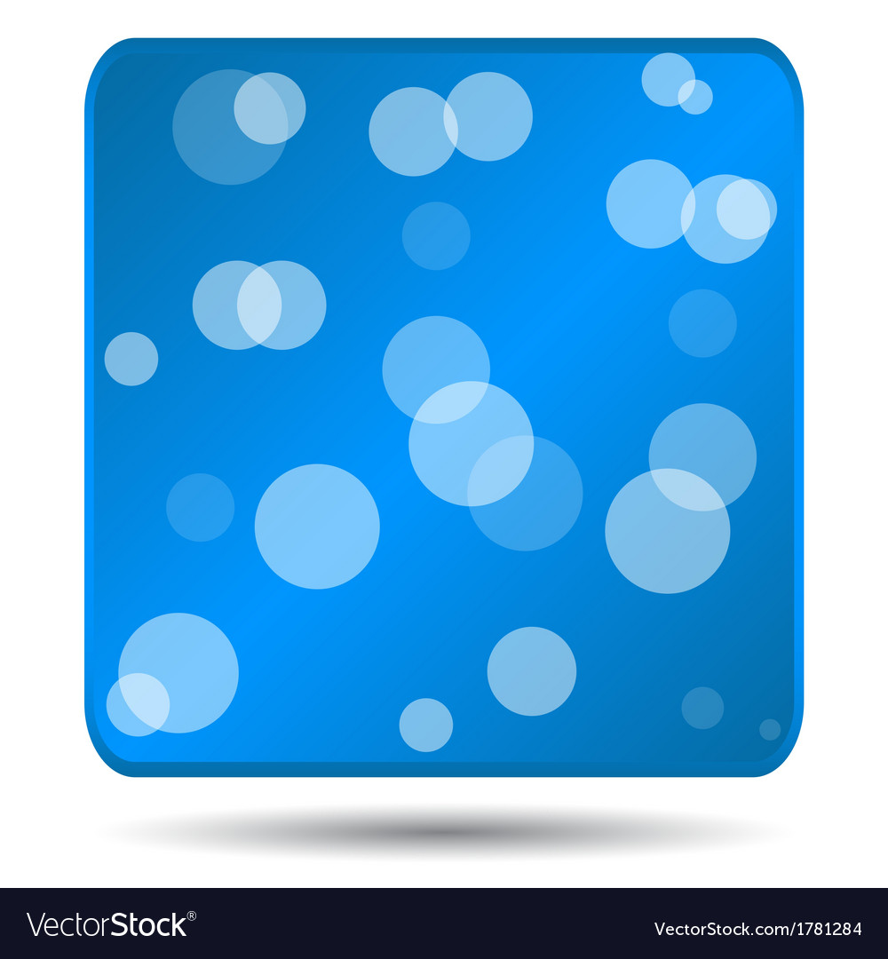 Blue icon vector | Price: 1 Credit (USD $1)