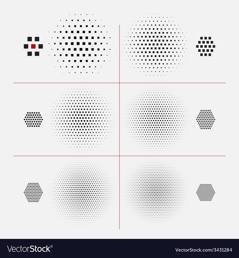 Halftone texture vector | Price: 1 Credit (USD $1)