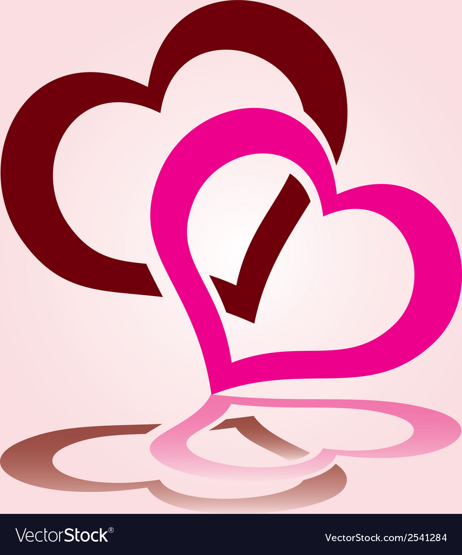 Valentines day hearts eps10 vector | Price: 1 Credit (USD $1)