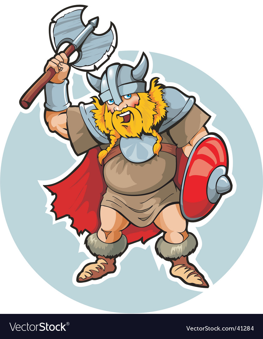 Viking with an axe vector | Price: 3 Credit (USD $3)