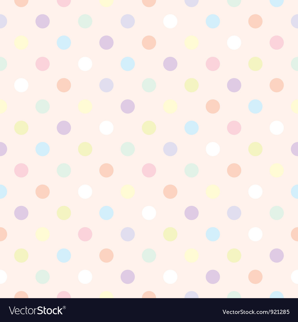 Colorful dots retro vector | Price: 1 Credit (USD $1)