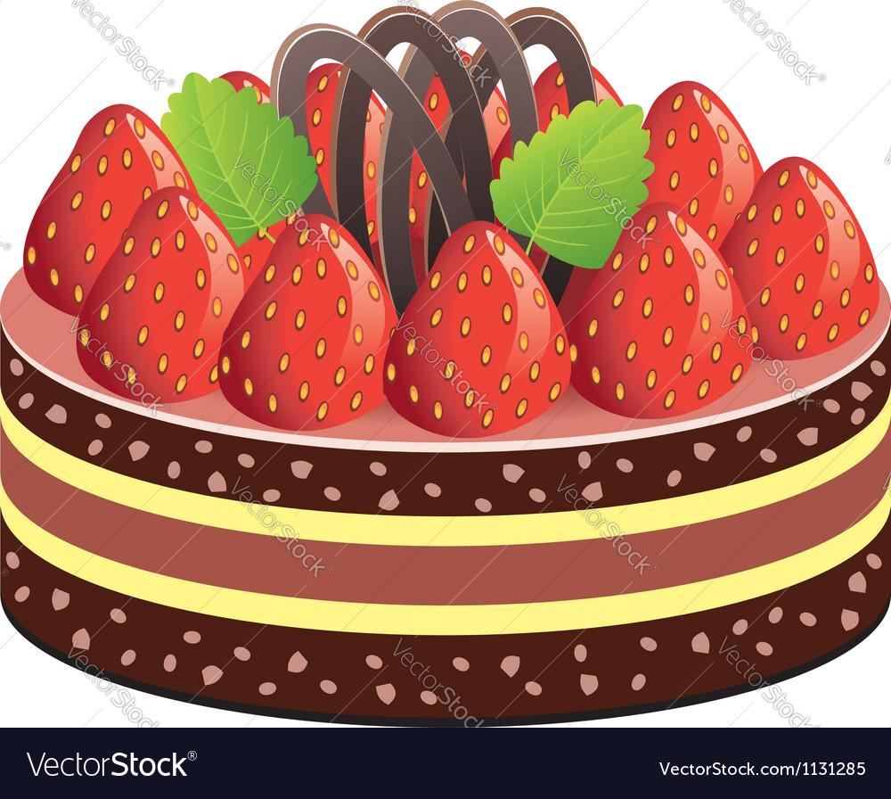 Fruit cake vector | Price: 1 Credit (USD $1)