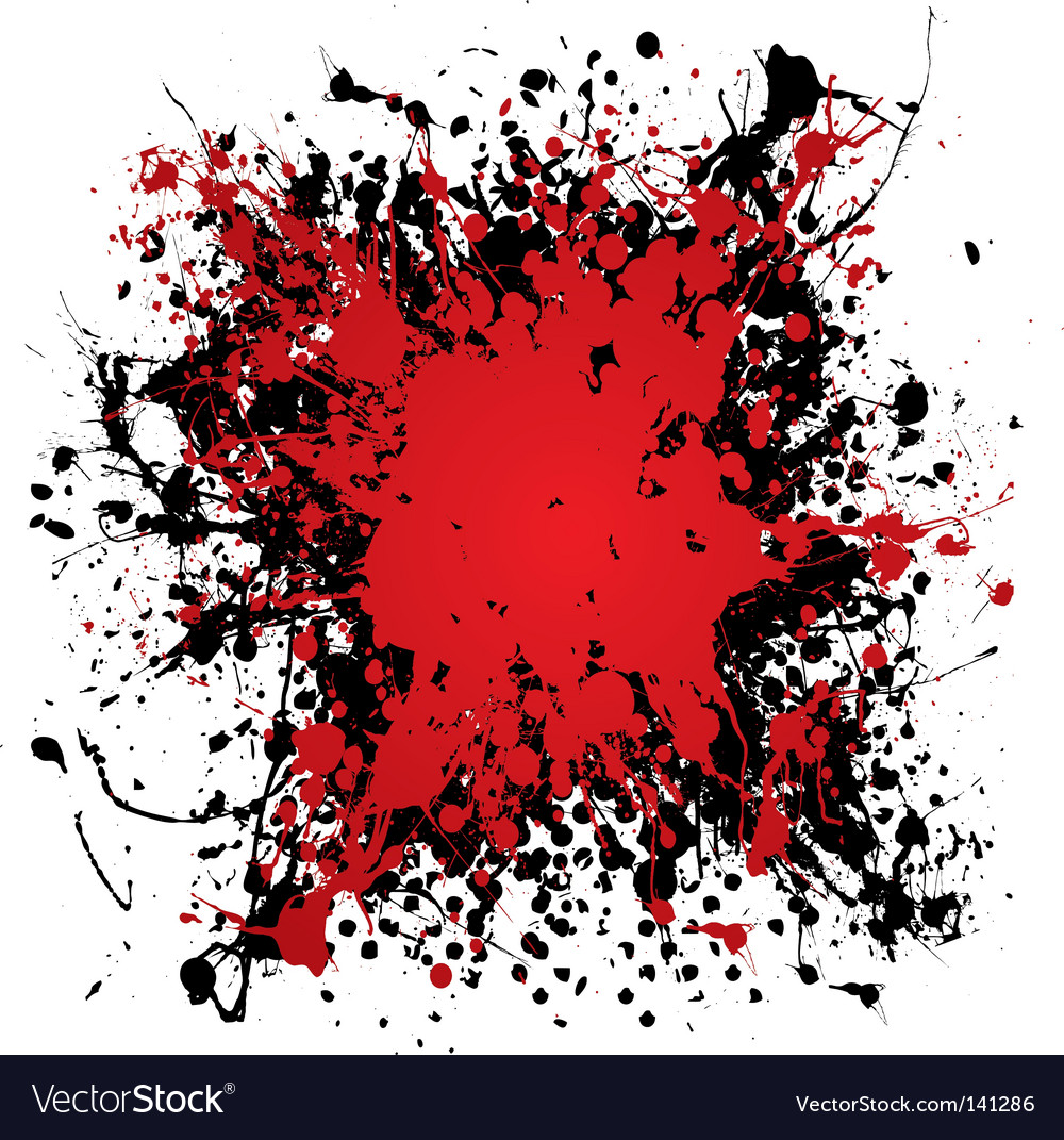 Ink blood splat vector | Price: 1 Credit (USD $1)