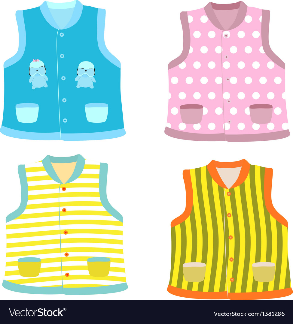 Waistcoats vector | Price: 1 Credit (USD $1)