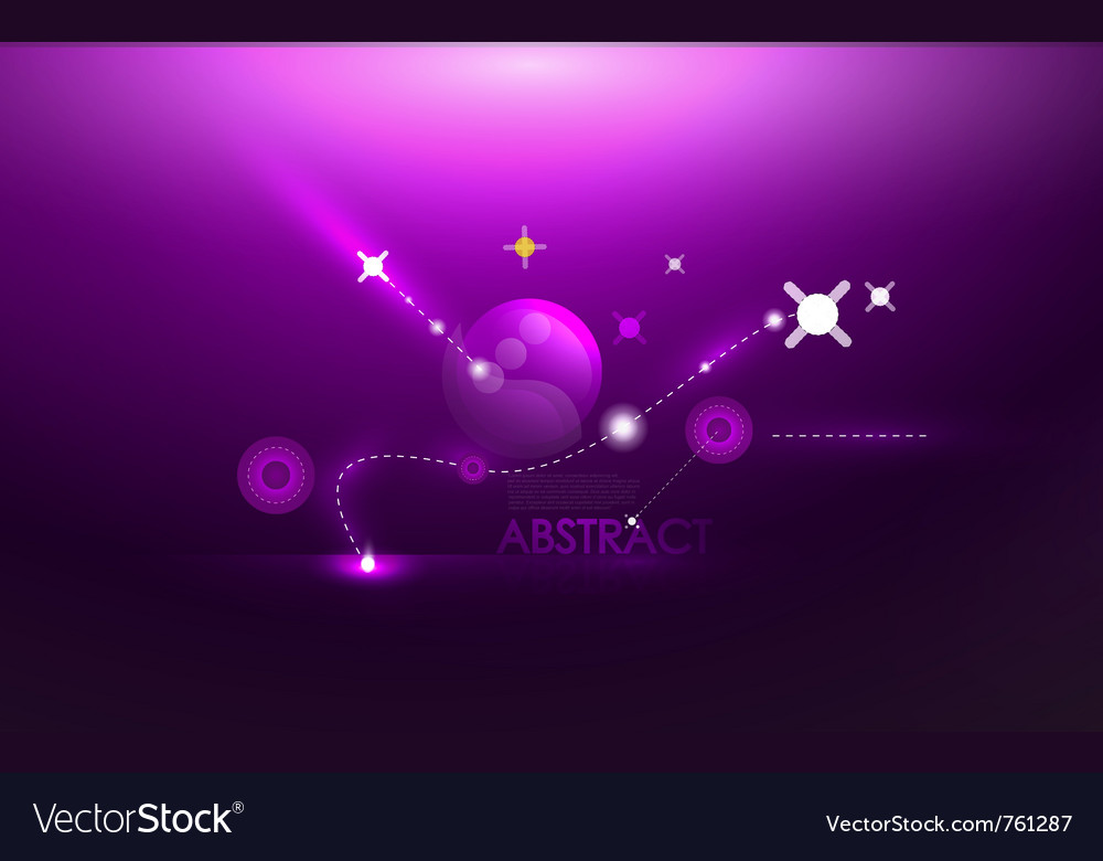 Abstract cosmic compostion vector | Price: 1 Credit (USD $1)