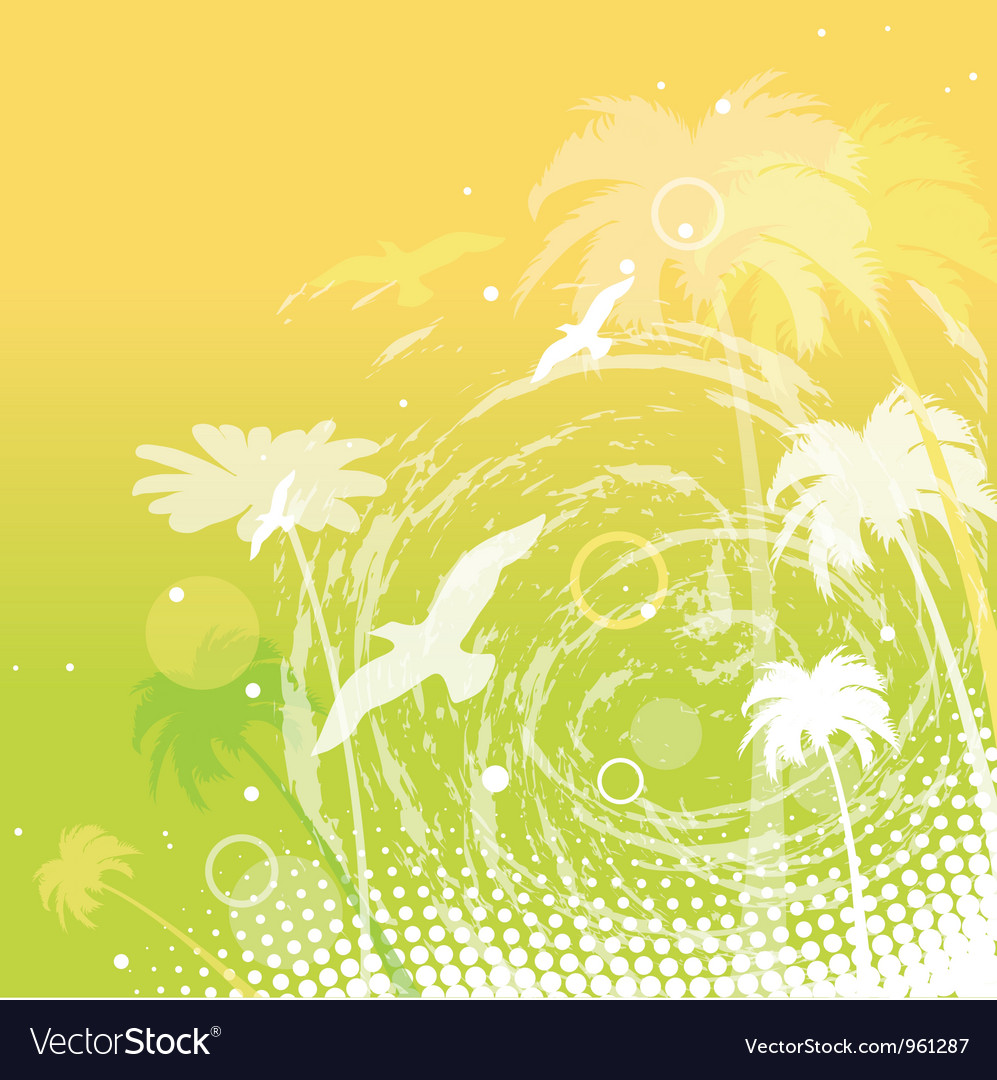 Abstract summer background vector | Price: 1 Credit (USD $1)