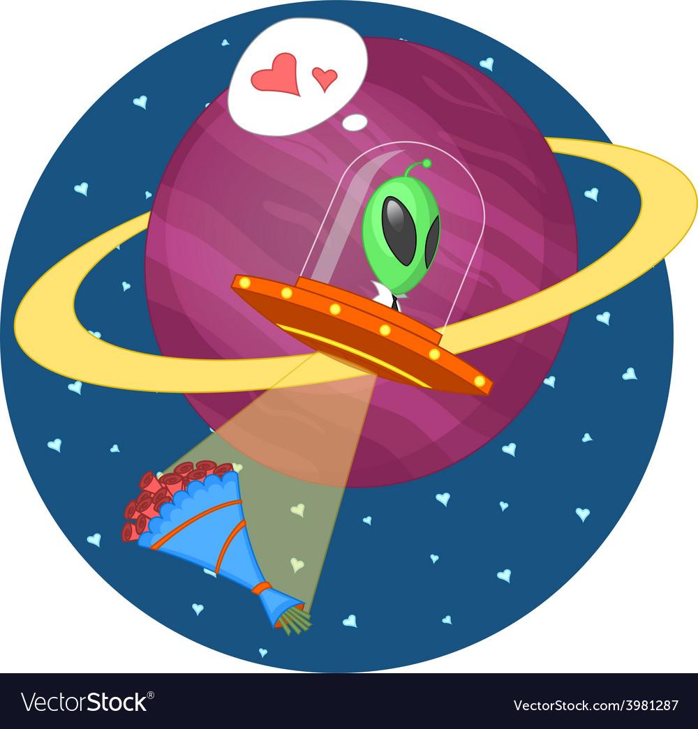 Alien love vector | Price: 1 Credit (USD $1)