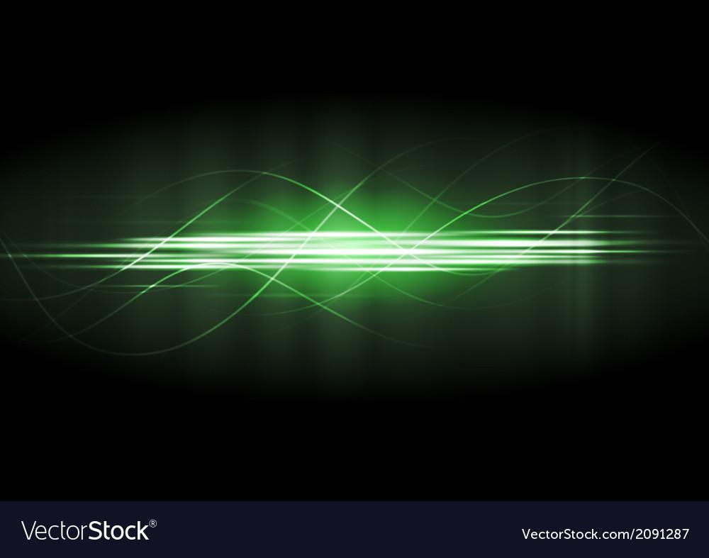 Green neon lines vector | Price: 1 Credit (USD $1)