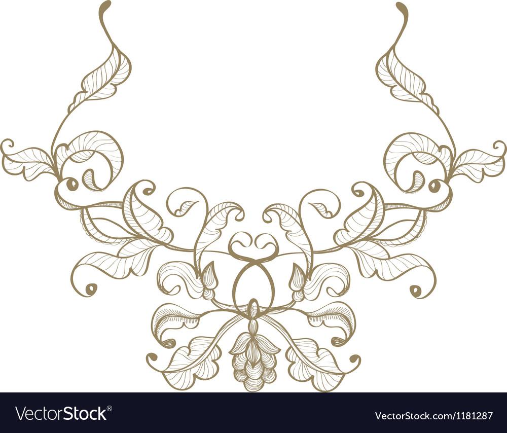 Retro ornament vector | Price: 1 Credit (USD $1)