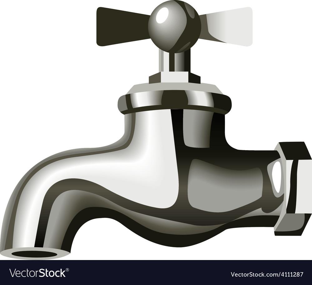 Water tap vector | Price: 1 Credit (USD $1)