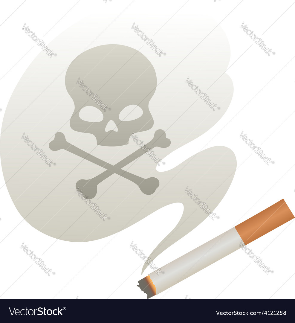 Cigarette smoke vector | Price: 1 Credit (USD $1)