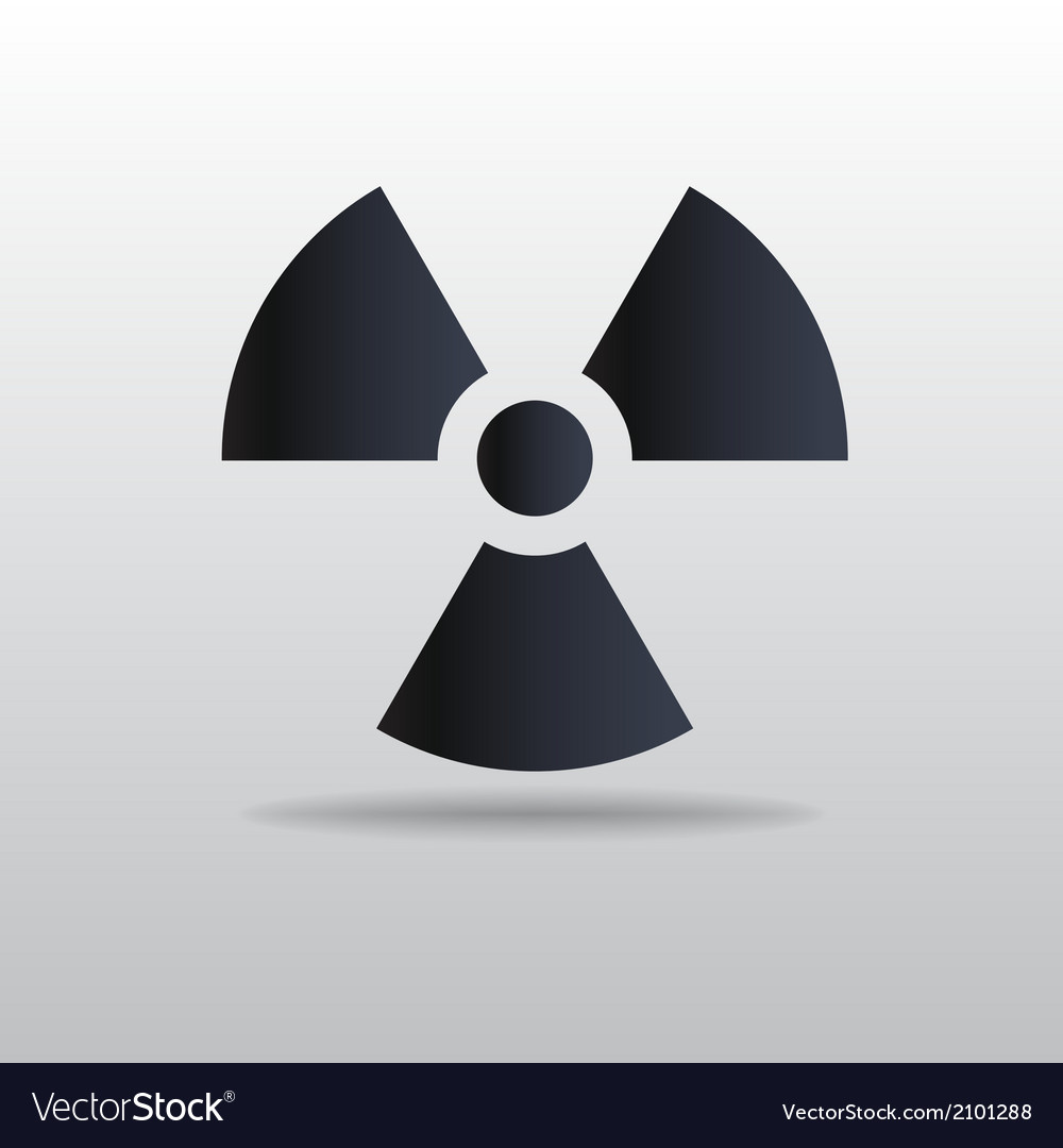 Icon of radiation vector | Price: 1 Credit (USD $1)