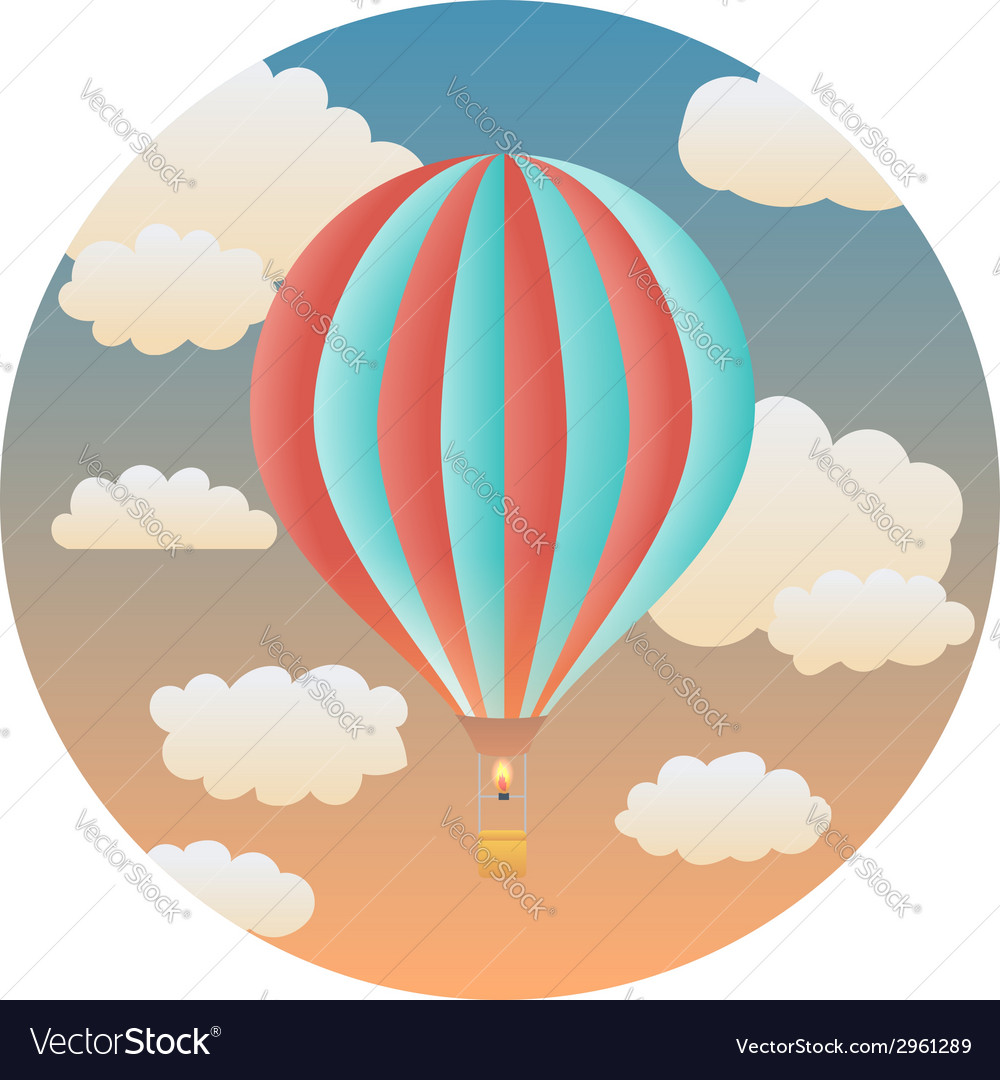 Balloon detailed vector | Price: 1 Credit (USD $1)
