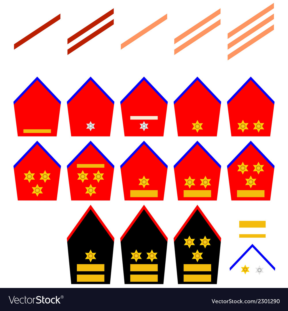 Insignia of the belgian royal army vector | Price: 1 Credit (USD $1)