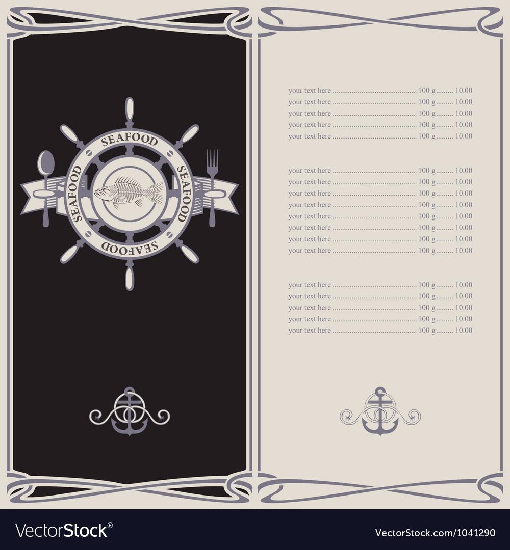 Menu pirates vector | Price: 1 Credit (USD $1)