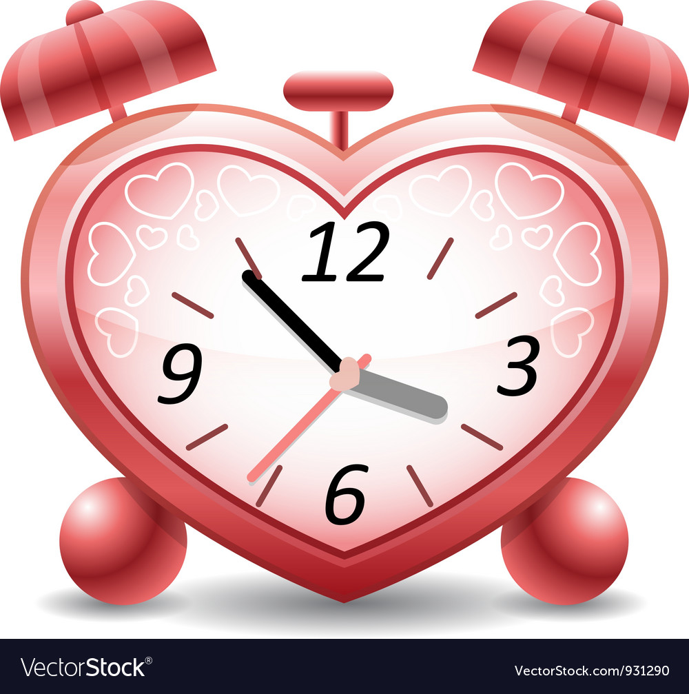 Time to love vector | Price: 3 Credit (USD $3)