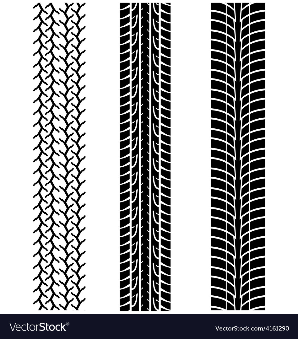 Tread of cars 2 vector | Price: 1 Credit (USD $1)