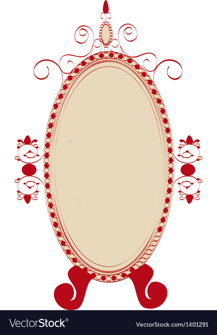 Icon mirror vector | Price: 1 Credit (USD $1)