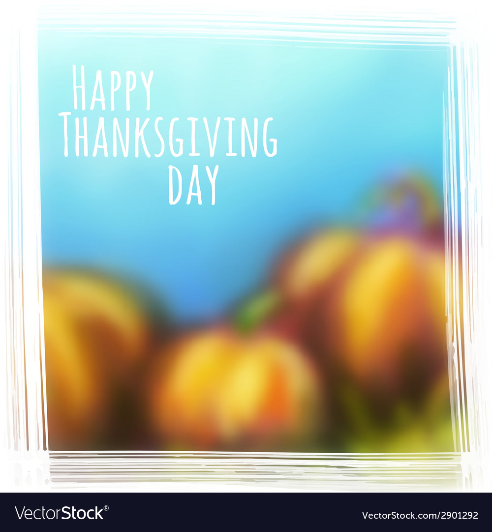 Autumn background for thanksgiving day vector   Price: 1 Credit (USD $1)