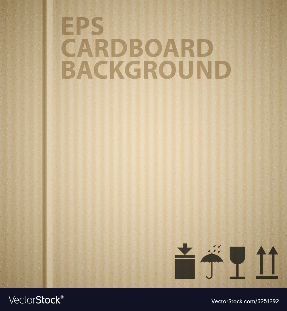 Cardboard background texture vector   Price: 1 Credit (USD $1)